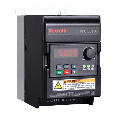 Частотный преобразователь 0.4 кВт, VFC 5610, 1ф/220В ( R912005384 )