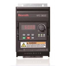 Частотный преобразователь VFC 3610, 0.4 кВт, 1ф/220В ( R912005373 )