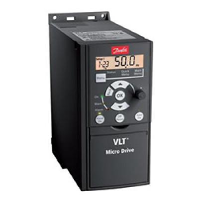 Преобразователь частоты 0.37кВт 1-ф/220 Micro Drive FC51 ( 132F0002 )
