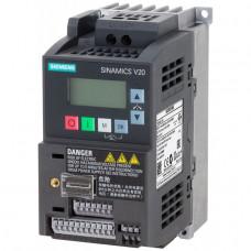 Преобразователь частоты SINAMICS V20 11 кВт, 380В (6SL3210-5BE31-1UV0)